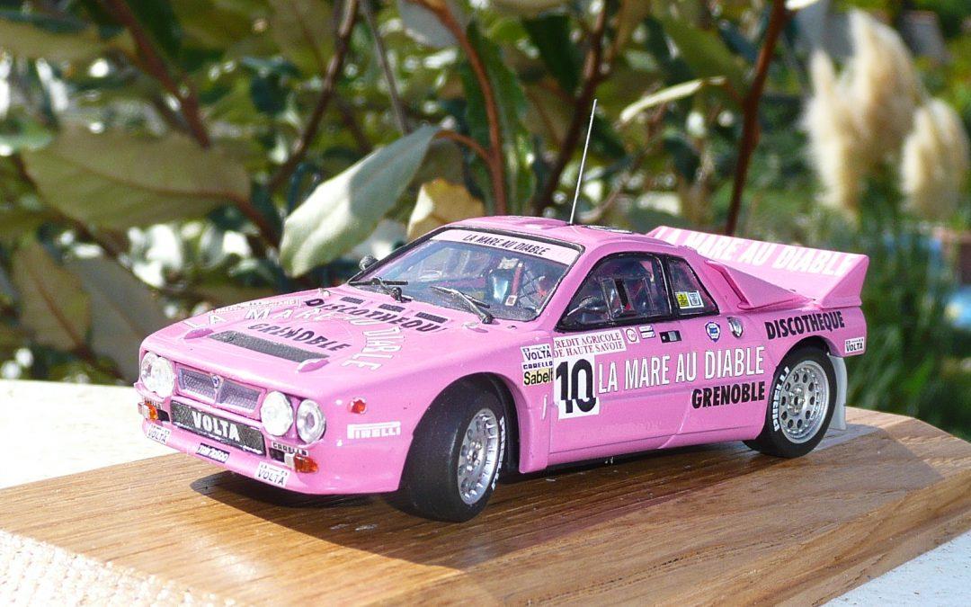 Lancia 037 – Dominique Gauthier – Rallye du Mont-Blanc 1984 1/43