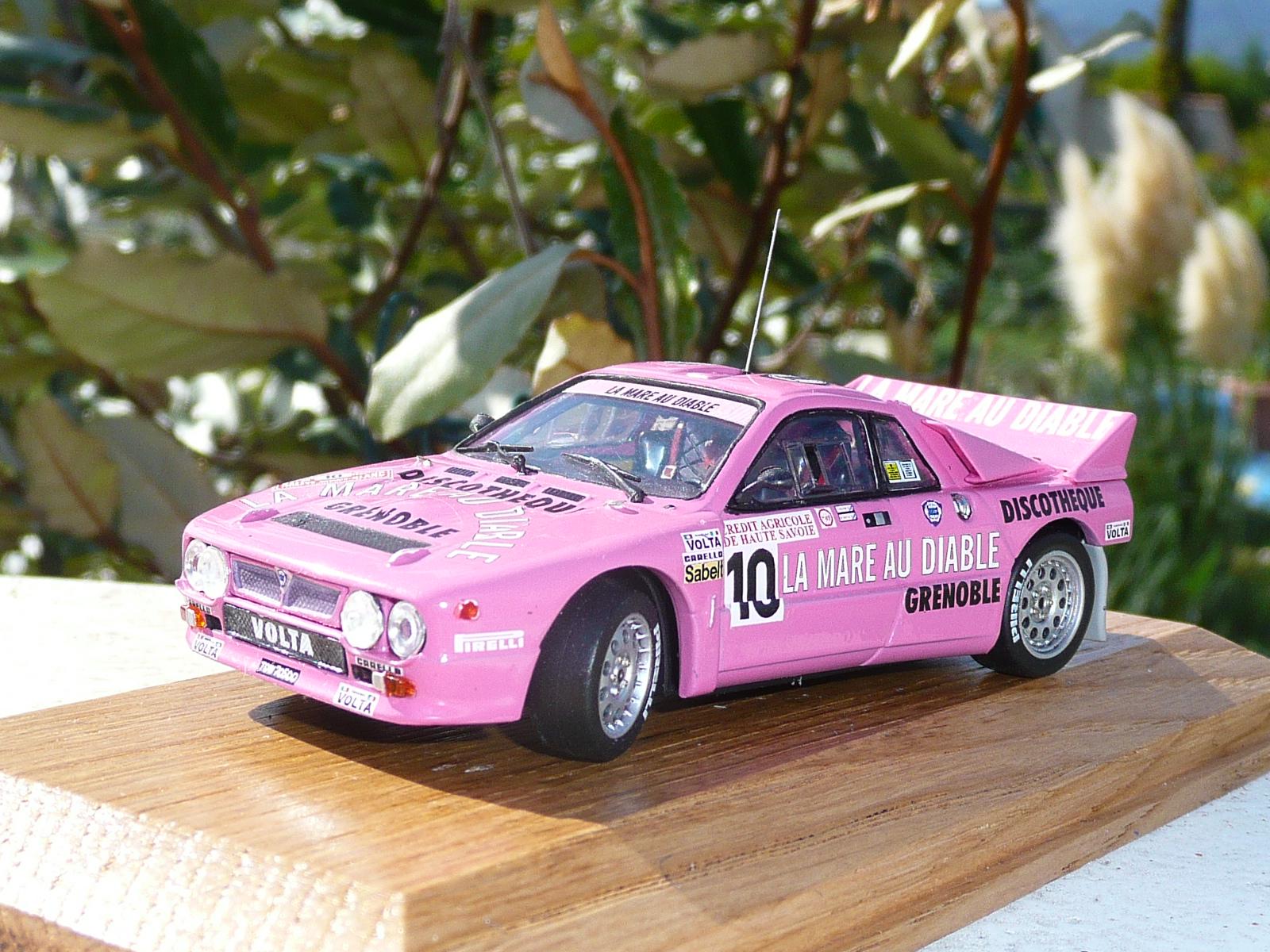 Lancia 037 - Dominique Gauthier - Rallye du Mont-Blanc 1984 1/43