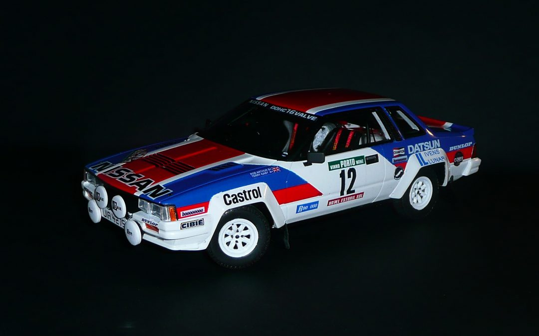 Nissan 240 RS GrB – Terry Kaby – Rallye du Portugal 1983