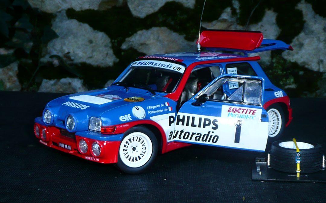 Renault 5 Turbo Maxi -Jean Ragnotti -24H d'Ypres 1985 – 1/18eme