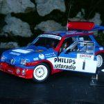 Renault 5 turbo maxi jean ragnotti Ypres 1985 1/18eme