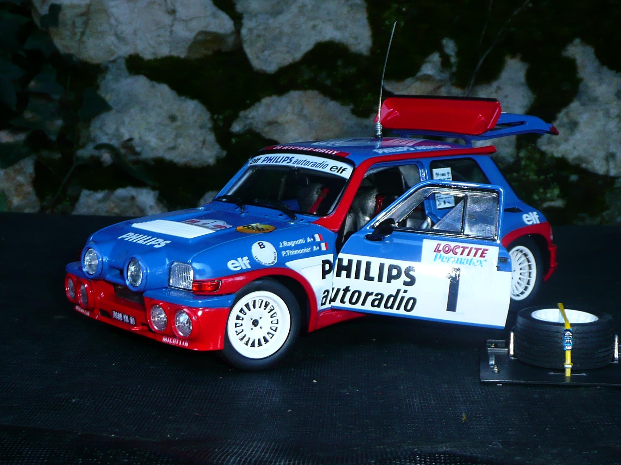 Renault 5 Turbo Maxi -Jean Ragnotti -24H d