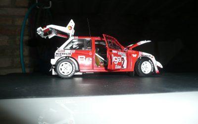 AustinMetre 6 R4 «Belga Team» – Marc Duez – Boucles de Spa 1986 1/18eme
