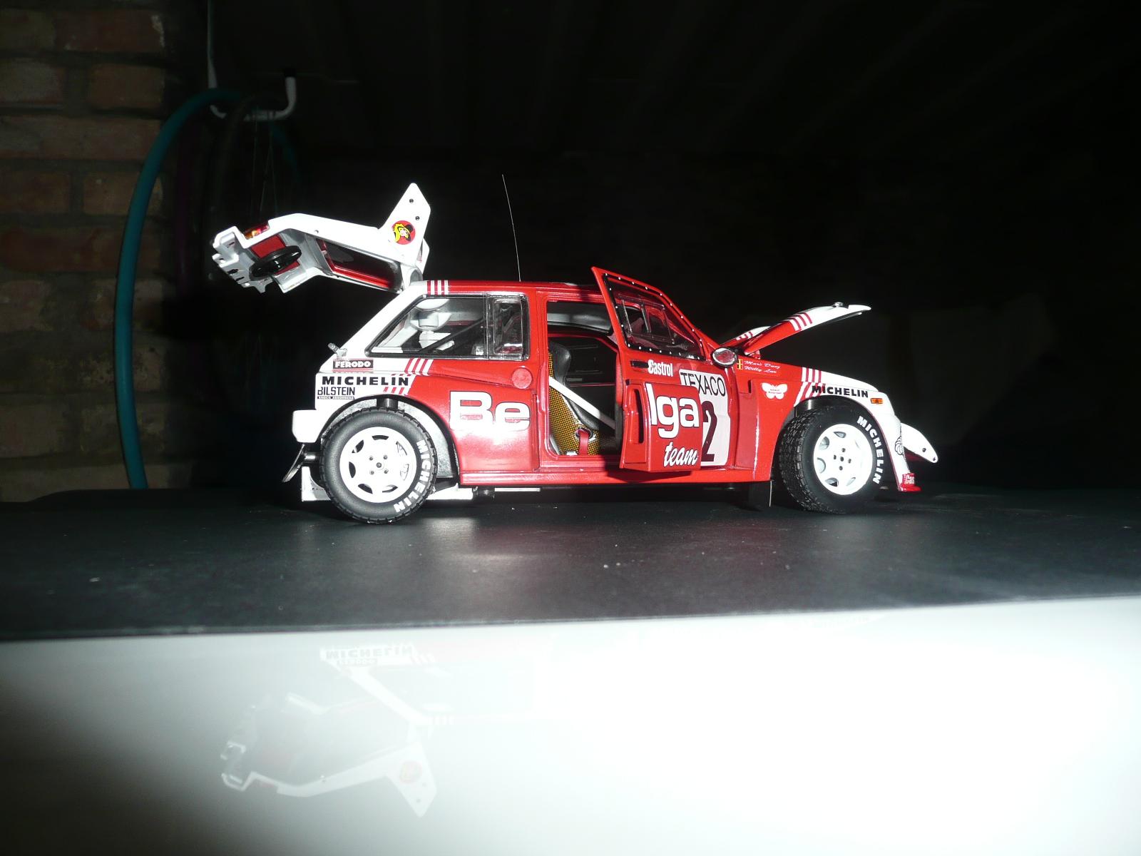 """AustinMetre 6 R4 """"Belga Team"""" - Marc Duez - Boucles de Spa 1986 1/18eme"""