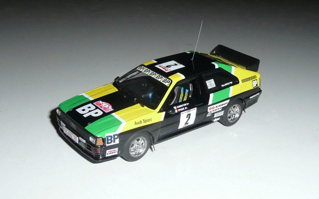 Audi Quattro GrB – Michèle Mouton – Rallye 1000 Pistes 1981