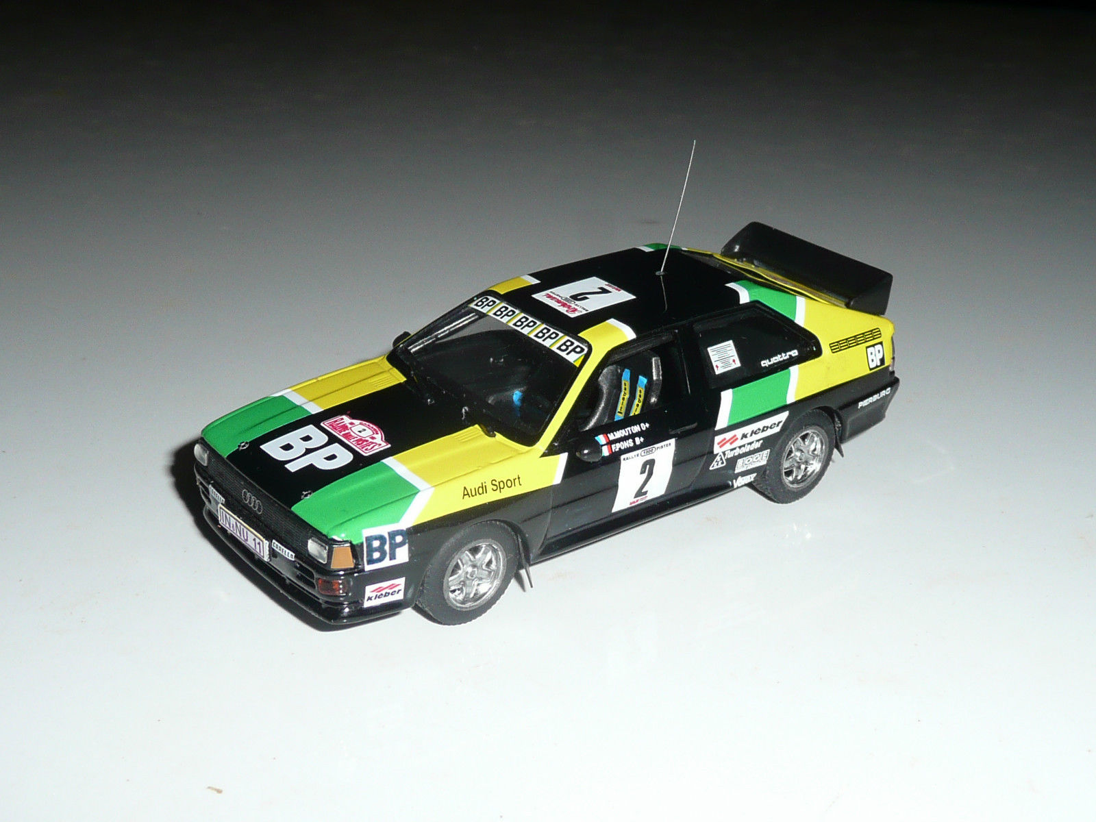 Audi Quattro GrB - Michèle Mouton - Rallye 1000 Pistes 1981