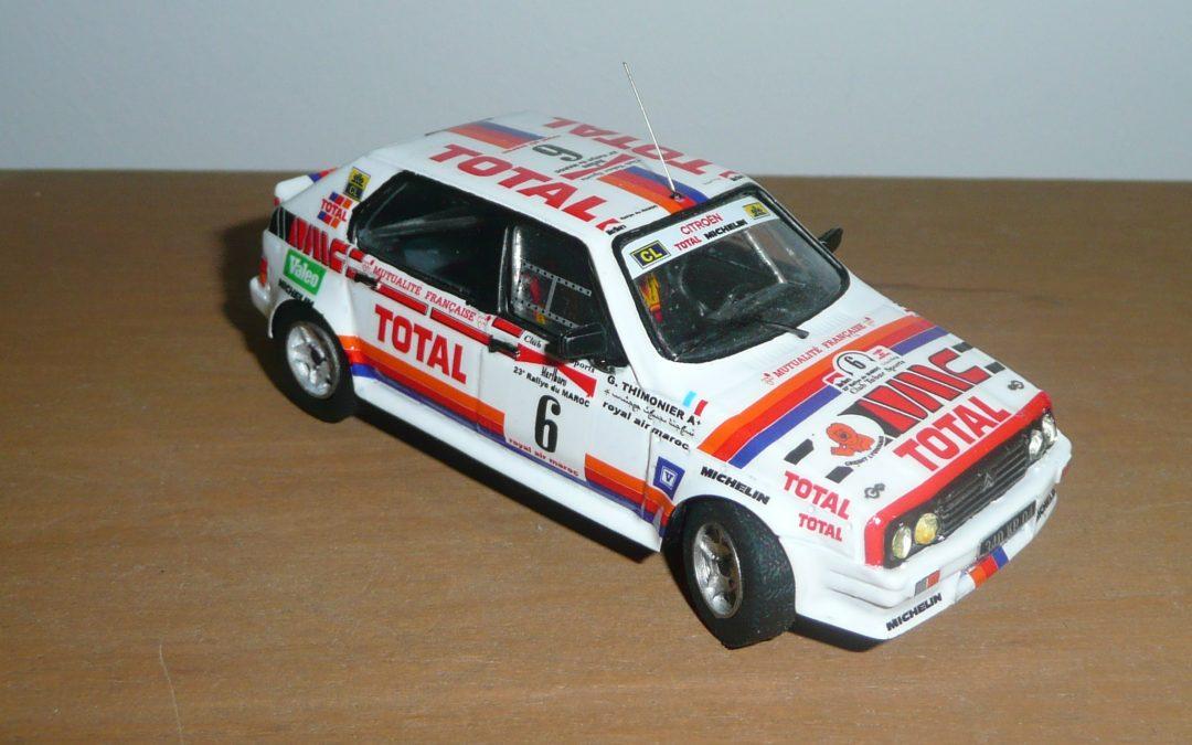 Citroën Visa 1000 Pistes – Maurice Chomat – Rallye du Maroc 1987