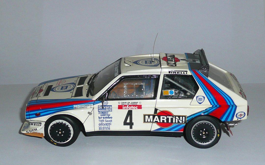 Lancia Delta S4 GrB – Henri Toivenen – Rallye Tour de Corse 1986 1/24