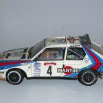 Lancia Delta S4 Henri Toivenen rallye Tour de Corse 1/24eme