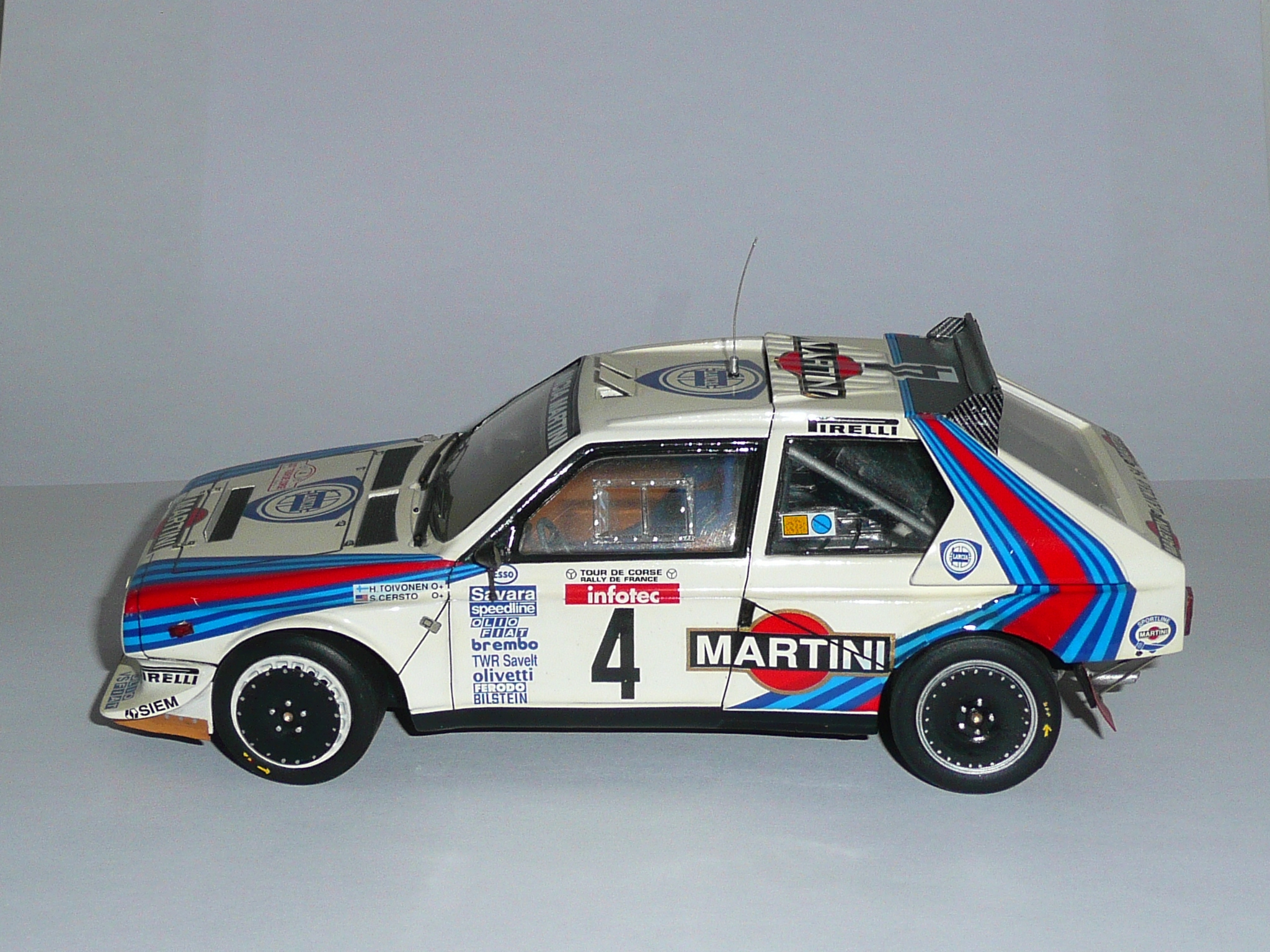 Lancia Delta S4 GrB - Henri Toivenen - Rallye Tour de Corse 1986 1/24