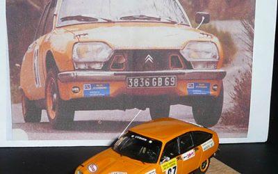 Citroën GS Gr2 – Jacques Plan – Rallye de Lozère 1978