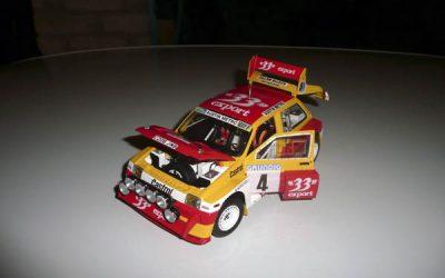 Austin Metro 6R4GrB – Didier Auriol – Rallye du Var 1986