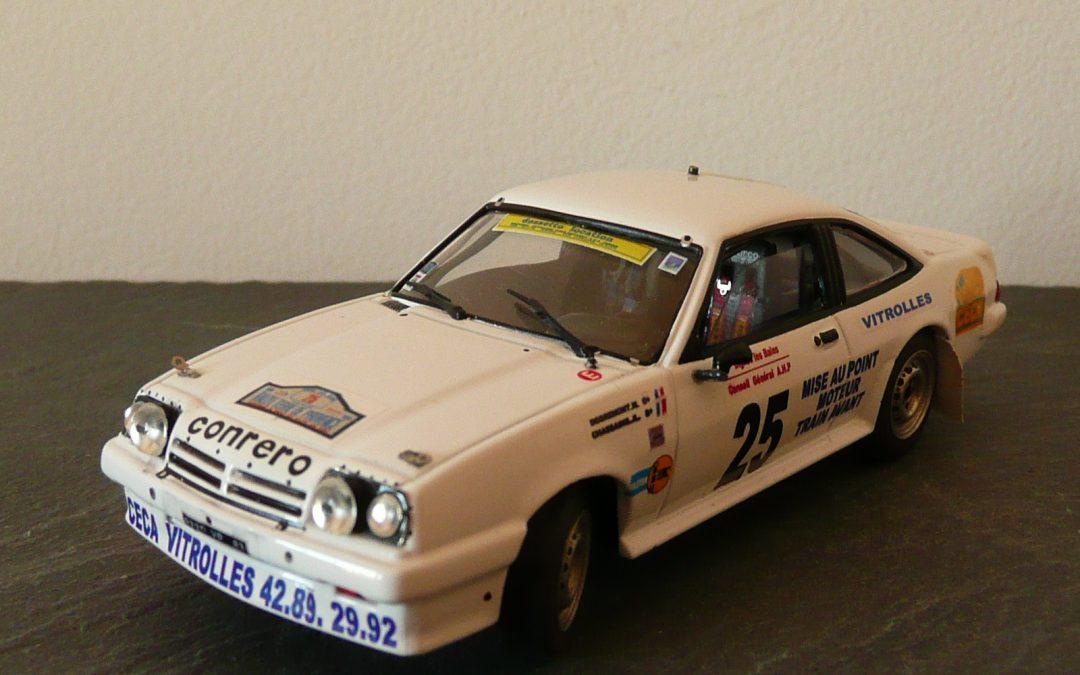 Opel Manta GrA «Conrero» – Michel Degremont – Rallye Terre de Provence 1990