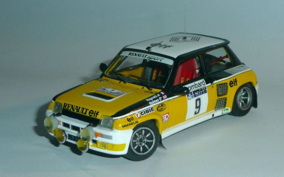 Renault 5 Turbo Gr4 – Jean Ragnotti – R.A.C 1981