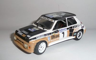 Renault 5 Turbo GrB – Chatriot – Rallye 1000 Pistes 1984