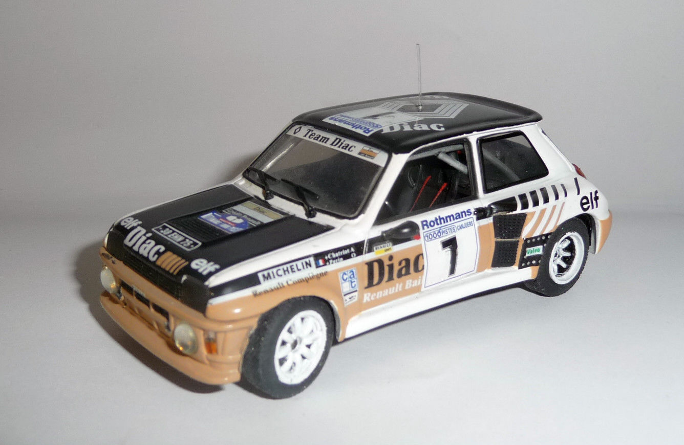 Renault 5 Turbo GrB - Chatriot - Rallye 1000 Pistes 1984