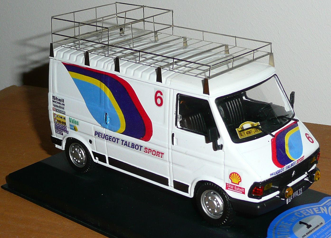 camion d assistance c35 peugeot talbot sport 1 43eme. Black Bedroom Furniture Sets. Home Design Ideas