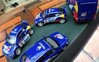 Team Renault Diac – Maxi Megane et assistance – Bugalski / Ragnotti – Grasse Alpin 1996