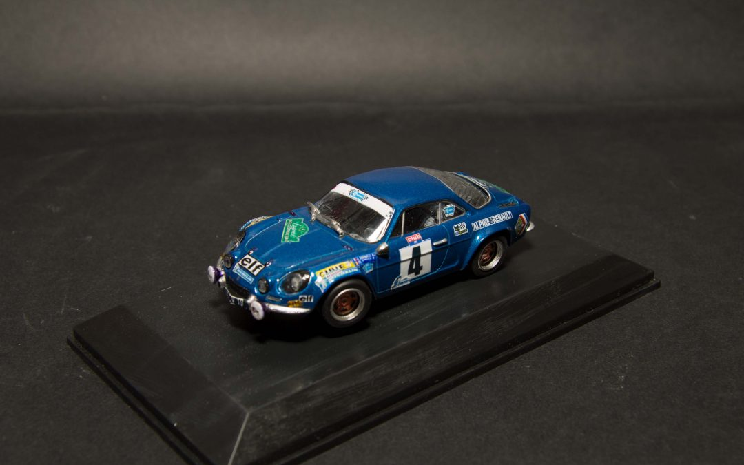 Alpine A 110 – Jean Ragnotti Rallye Legend Boucles de Spa 2007
