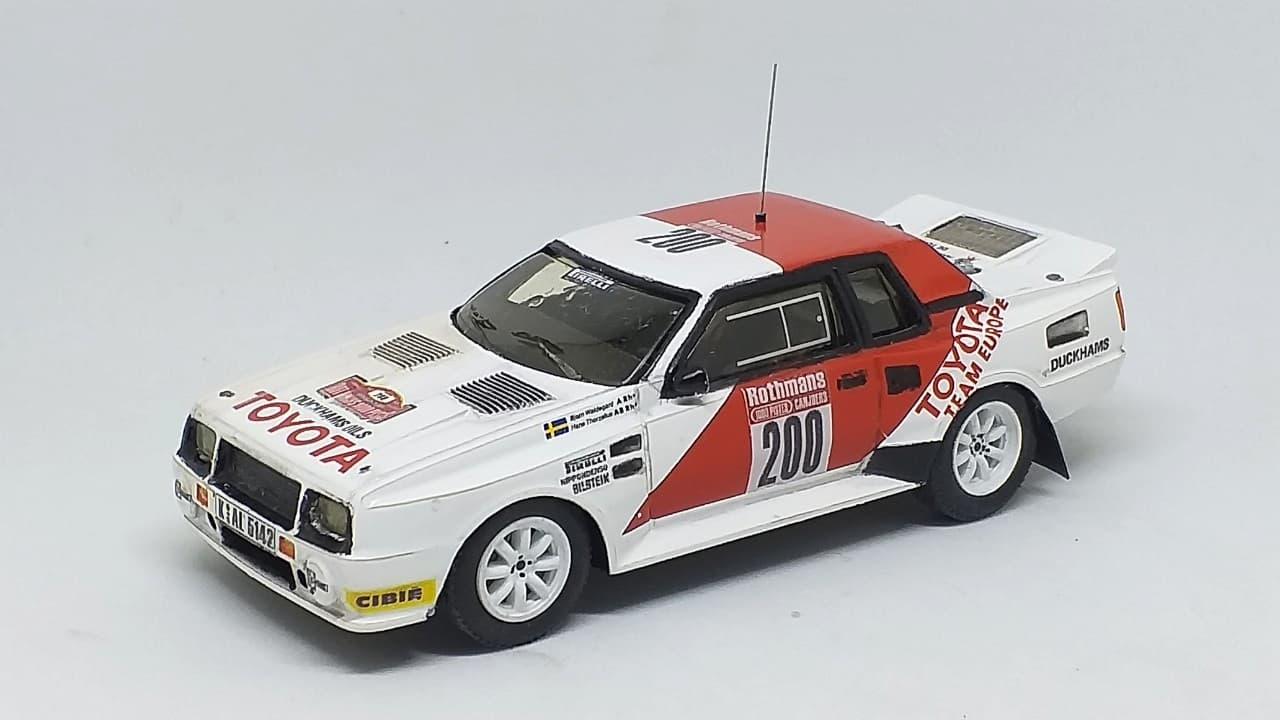 Toyota TwinCam GrB - Waldegård - 1000 Pistes 1983