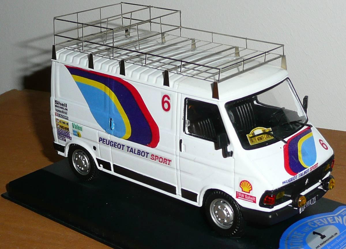 Camion d'assistance C35 Peugeot Talbot Sport 1/43eme